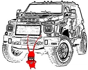 Карикатура про понты