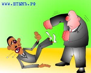 Карикатура на президента