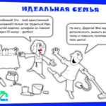 Прикольная карикатура про семью