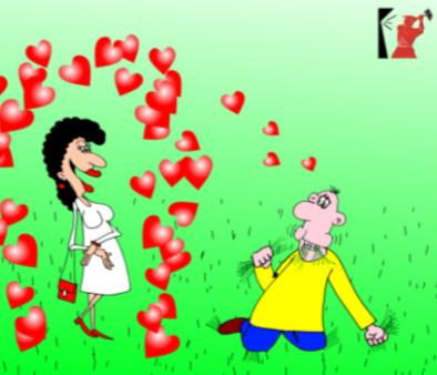 Афоризм в карикатурах о любви