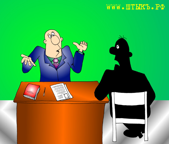 Веселый анекдот в карикатурах