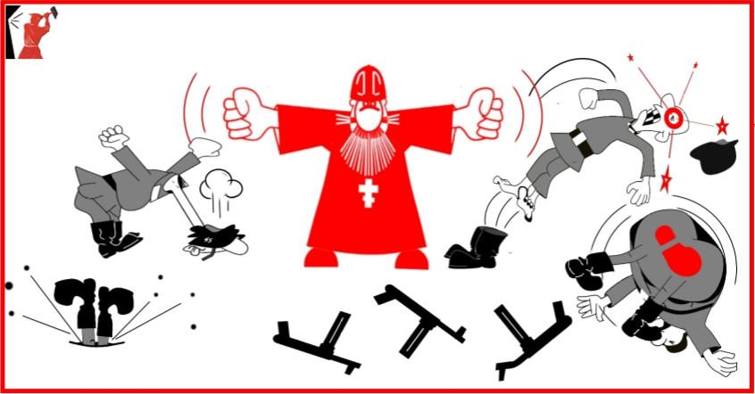 Анекдоты в карикатурах и картинках о войне