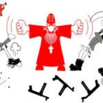 karikatura batushka um Жизнь, Ссора, Религия, Враги