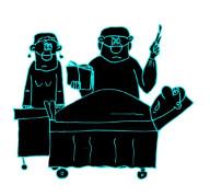 Анекдот про хирурга. Миниатюра