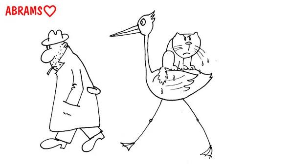 karikatura prikolnyi anekdot bud akkuratnee Животные, Женщина, Смешные картинки, Смешные приколы