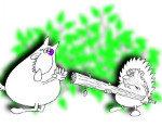 Анекдот: Маленький ежик по лесу гулял . Миниатюра