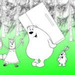 Анекдот про зверушек: Зачем мне холодильник? Миниатюра