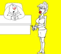 Анекдот про секретаршу и ее коварного начальника. Миниатюра