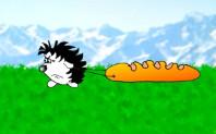 Прикольные анекдоты в карикатурах: Батон для прыжка. Миниатюра