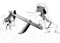 Анекдот: Священные животные - есть или не есть? Миниатюра