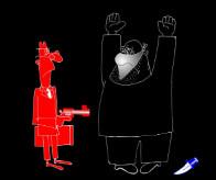 Анекдот про гопоту и страхи черного Гарлема. Миниатюра