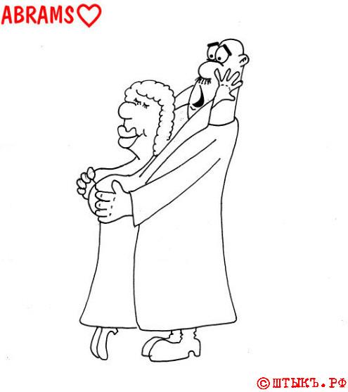 Анекдотъ про изъ гусарскога полка Анания . Карикатура