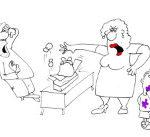 Анекдот про пропавшую клубнику. Миниатюра