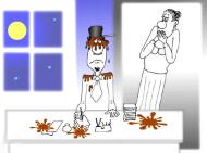 Семейный анекдот про культуру семейной речи. Миниатюра