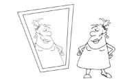 Убойные анекдоты про женщин: Зеркальце. Миниатюра