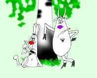 Сказочный анекдот: Когда козлы решают. Миниатюра