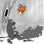 Анекдот про волчар позорных. Миниатюра