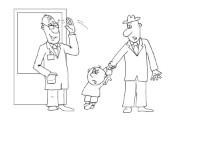 Анекдот о проблемах детского воспитания. Миниатюра
