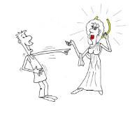 Смешной анекдот : Не жена, а богиня. Миниатюра