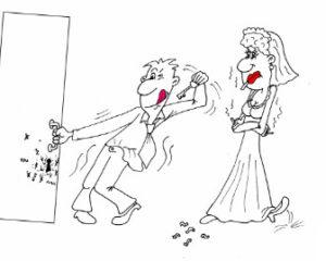 Веселый анекдот про начало брачной ночи