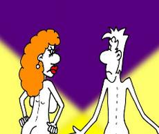 Веселый анекдот с картинкой про мужа и искусство