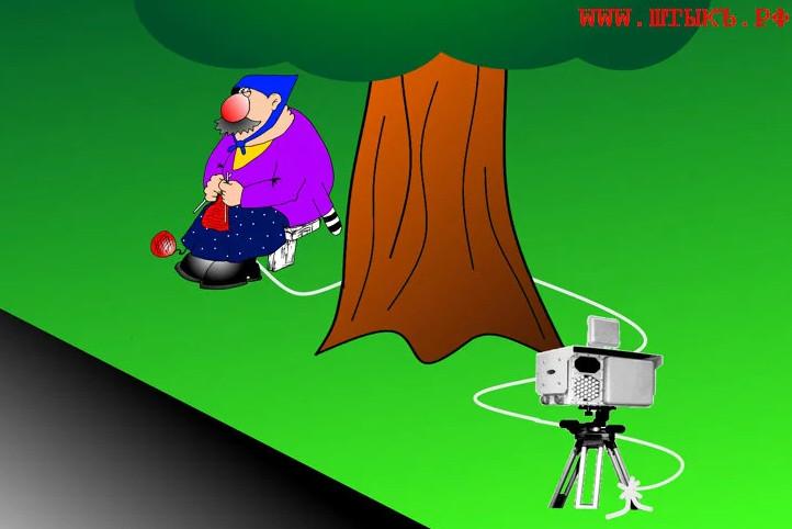 Карикатура автора канала с сайта юмористической газеты ШТЫКЪ