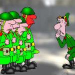 Что в армии стоит вместе с бойцом-мужской юмор