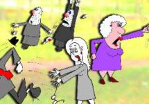 Про грозную бабушку и воспитание